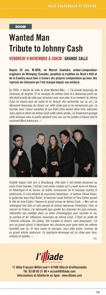 Article paru dans le journal de la ville d'Illkirch